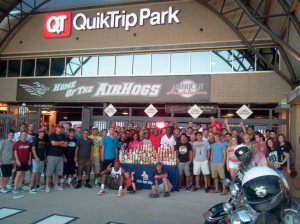 Baseball Moves Back to Quik Trip Park