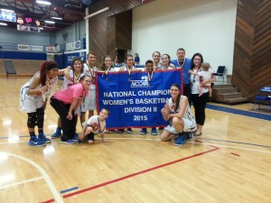 2015 NCCAA II National Champion Lady Patriots…