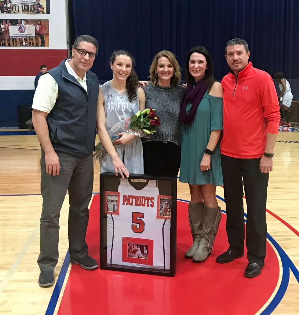 Beattie the Lone Senior Honored for Lady Patr…